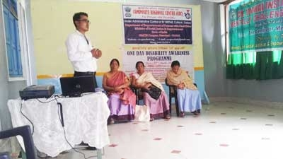 One Day Disability Awareness Program